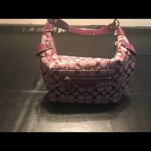 Coach 7 piece purse set
